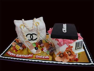 CHANEL THEME CAKE