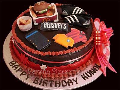 TEEN-THEME CAKE