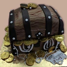 TREASURE HUNT THEME CAKE