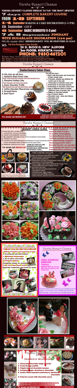 Cake Making Classes In Kolkata : Varsha-Desserts-n-Cakes-Classes Desserts N Cakes Classes ...