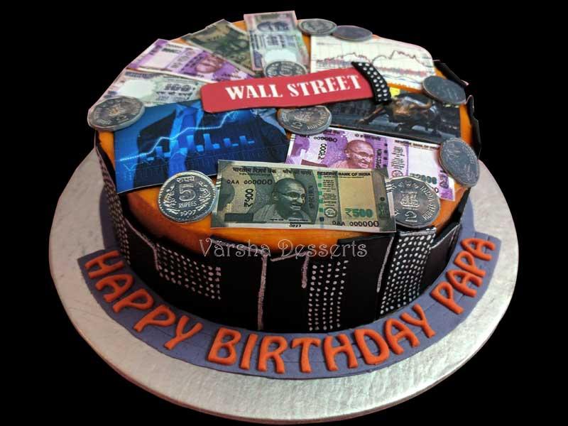 AMAZING WALL STREET CAKE