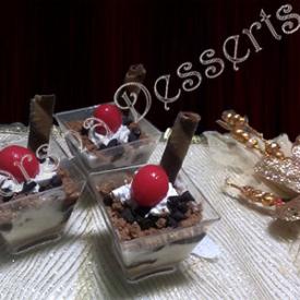 ROSOGOLLA CHOCOLATE PUDDING