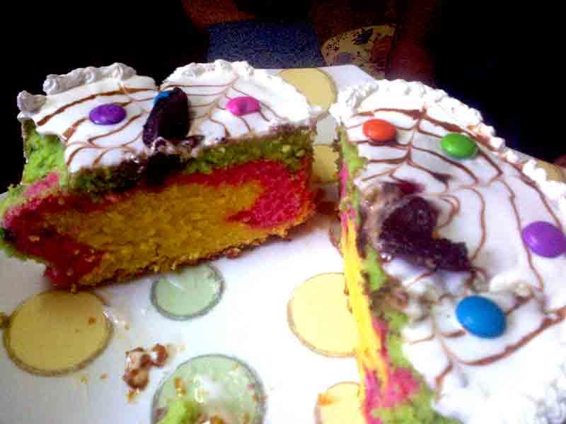 Cake Making Classes In Kolkata : MARBLE CAKE Varsha-Desserts-n-Cakes-Classes