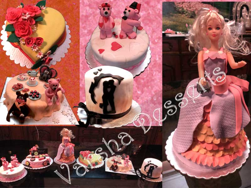 Cake Making Classes In Kolkata : Fondant Decoration Class Varsha-Desserts-n-Cakes-Classes