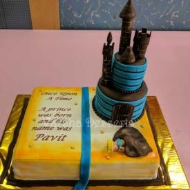 CASTLE THEME CAKE